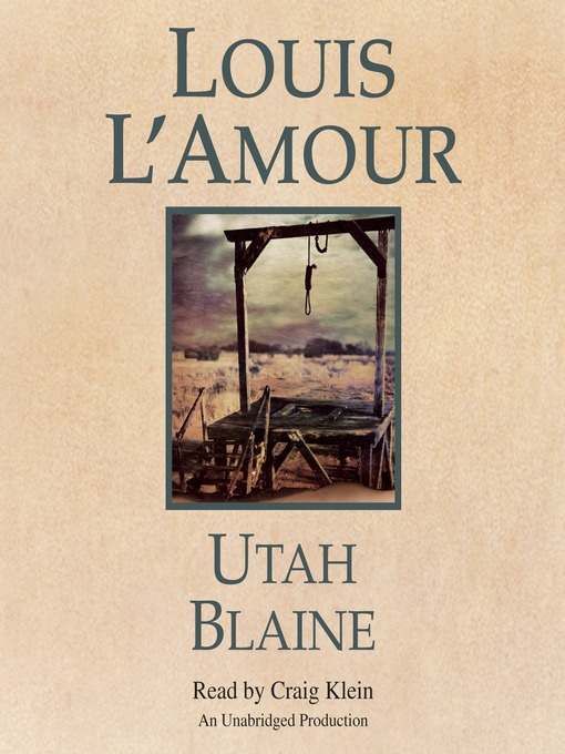 a literary analysis of utah blaine by louis lamour Listen to utah blaine by louis l'amour stream or download audiobooks to your computer, iphone or android.