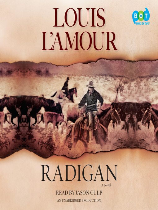 Title details for Radigan by Louis L'Amour - Wait list