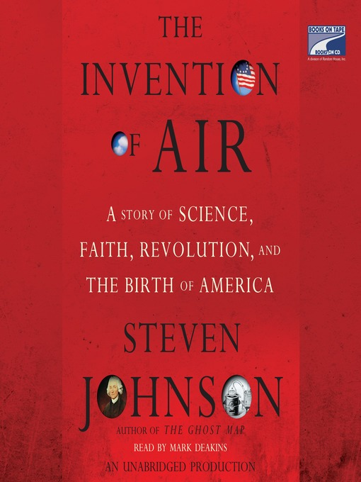 Title details for The Invention of Air by Steven Johnson - Wait list