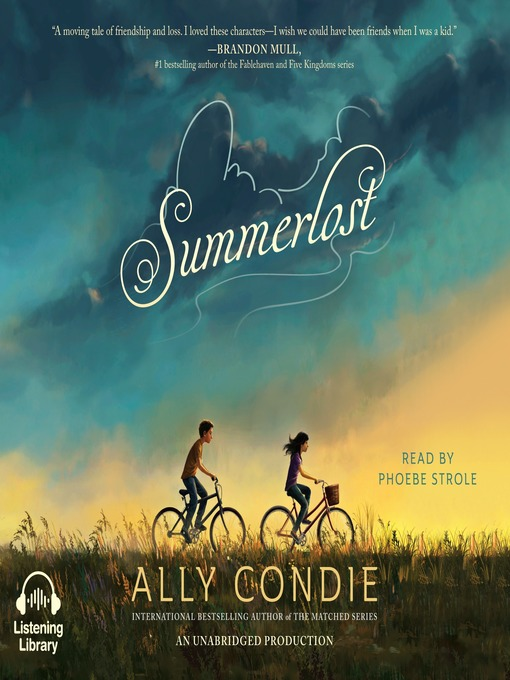 Title details for Summerlost by Ally Condie - Available