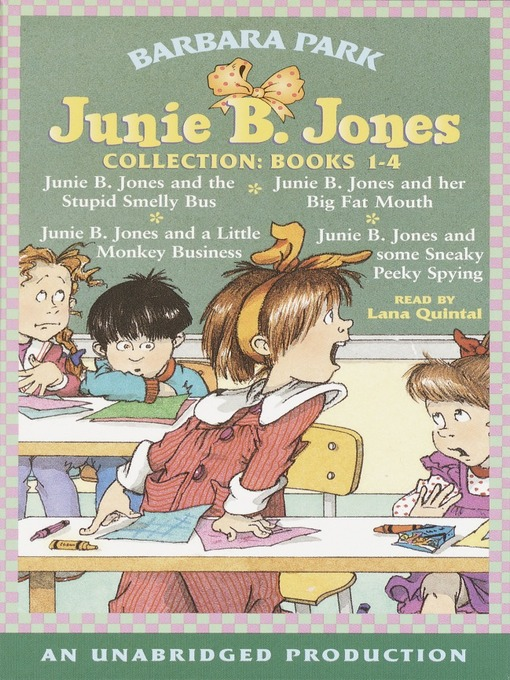 Title details for Junie B. Jones Collection, Books 1-4 by Barbara Park - Wait list