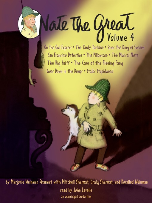 Cover image for Nate the Great Even More Collected Stories