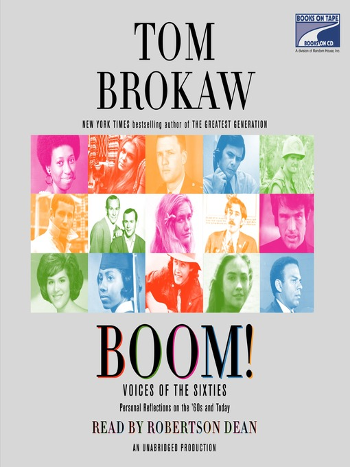 Title details for Boom! by Tom Brokaw - Available