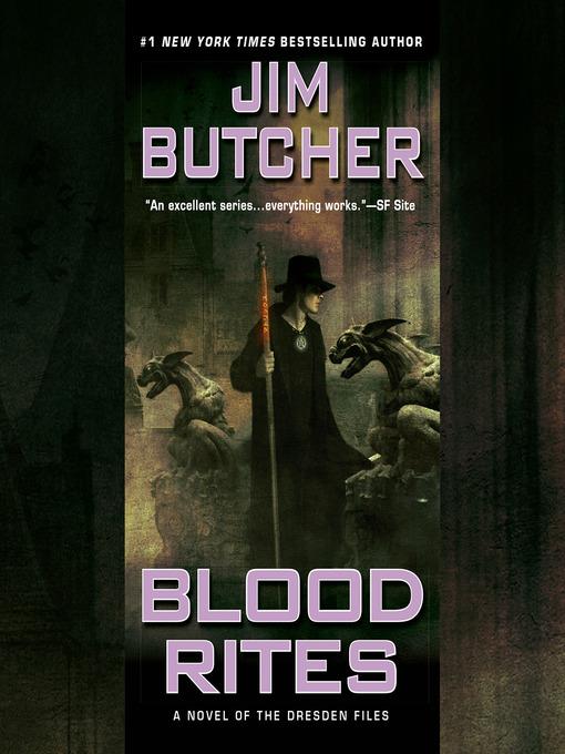 Title details for Blood Rites by Jim Butcher - Wait list