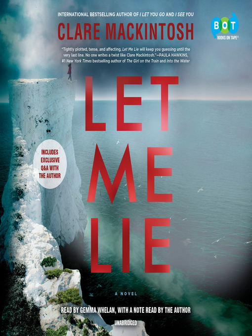 Title details for Let Me Lie by Clare Mackintosh - Available