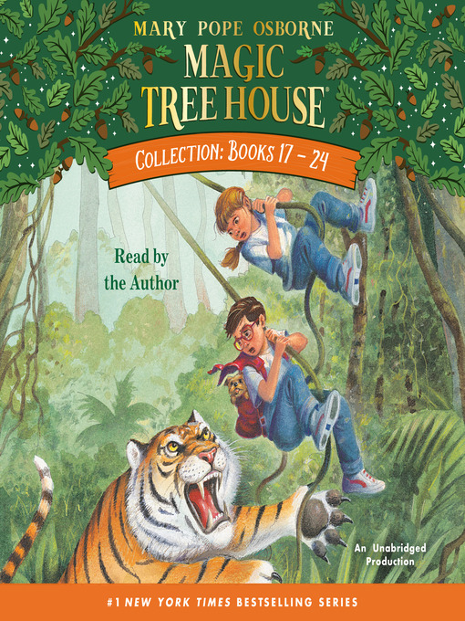 Title details for Magic Tree House Collection, Books 17-24 by Mary Pope Osborne - Available