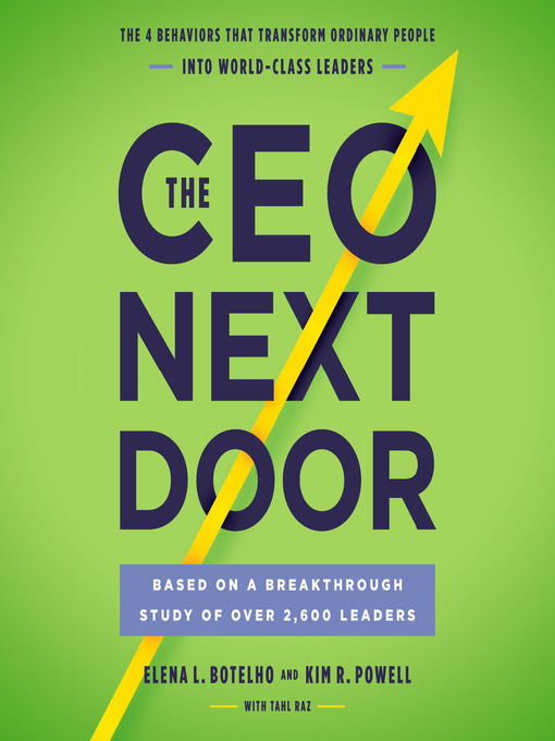 Title details for The CEO Next Door by Elena L. Botelho - Available