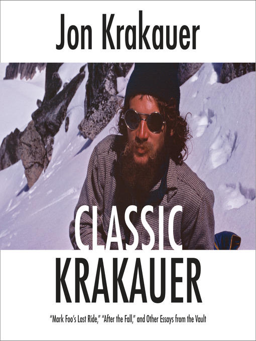 Title details for Classic Krakauer by Jon Krakauer - Wait list