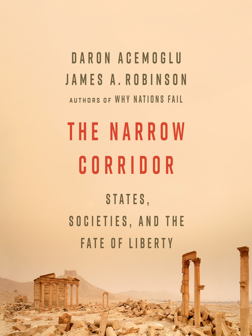 Title details for The Narrow Corridor by Daron Acemoglu - Wait list