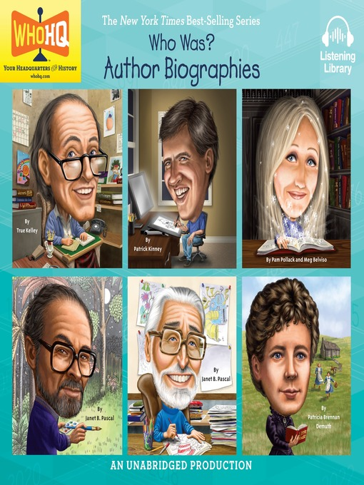 Title details for Who Was: Author Biographies by Various - Wait list