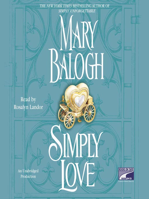 Title details for Simply Love by Mary Balogh - Wait list