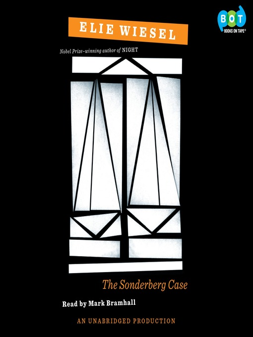 Title details for The Sonderberg Case by Elie Wiesel - Available