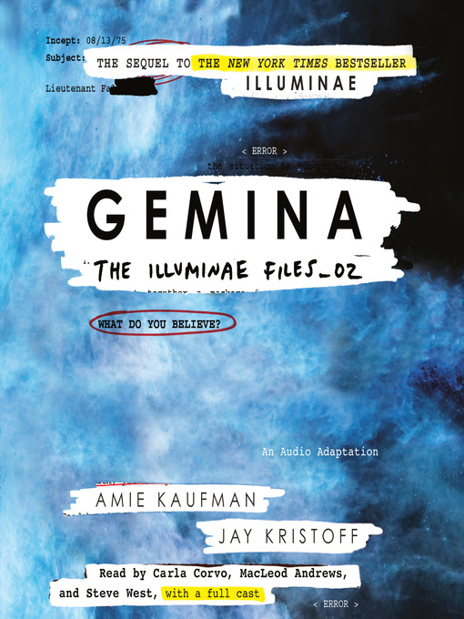 Title details for Gemina by Amie Kaufman - Wait list