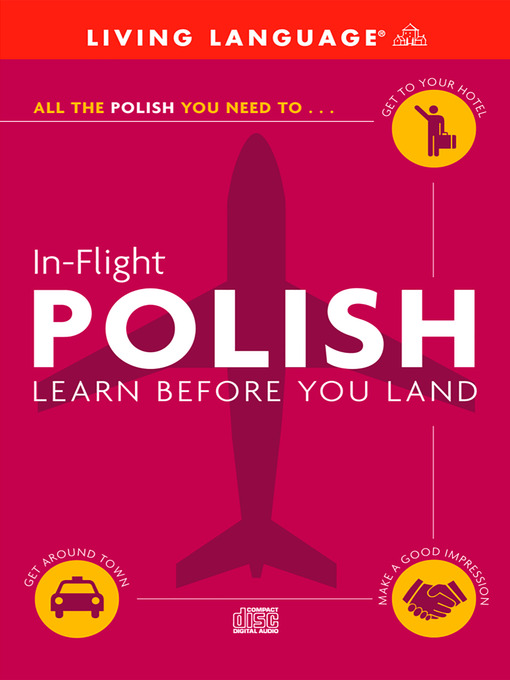 Title details for In-Flight Polish by Living Language - Wait list