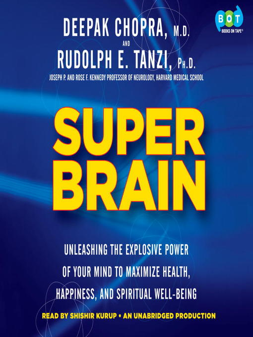 Title details for Super Brain by Rudolph E. Tanzi - Available