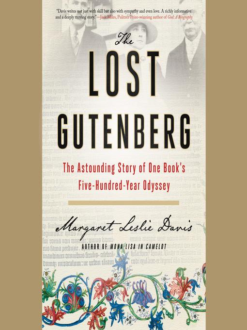 Title details for The Lost Gutenberg by Margaret Leslie Davis - Wait list