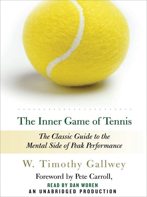 Cover of The Inner Game of Tennis