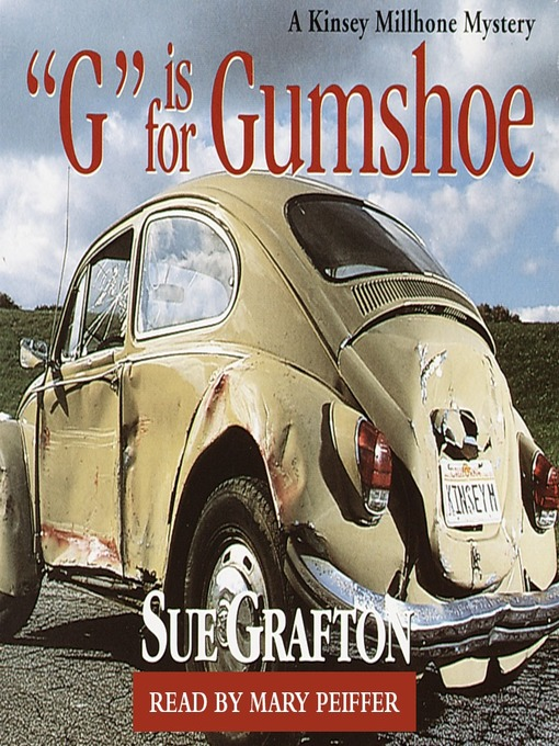 "Title details for ""G"" is for Gumshoe by Sue Grafton - Wait list"