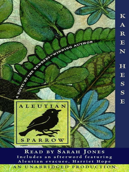 Title details for Aleutian Sparrow by Karen Hesse - Available