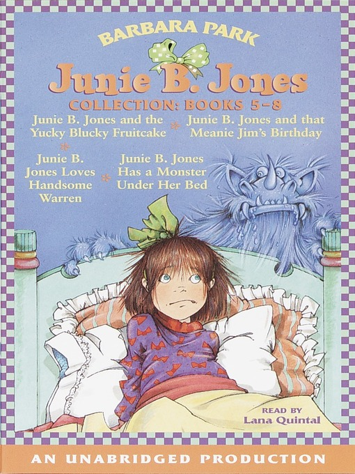 Title details for Junie B. Jones Collection, Books 5-8 by Barbara Park - Wait list