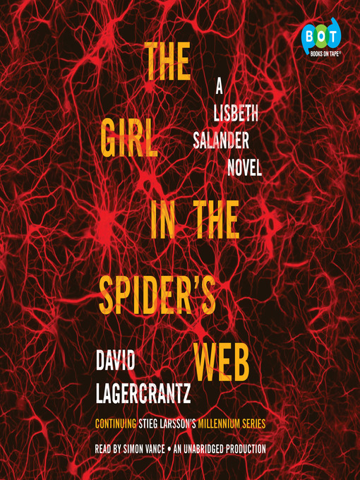Title details for The Girl in the Spider's Web by David Lagercrantz - Wait list