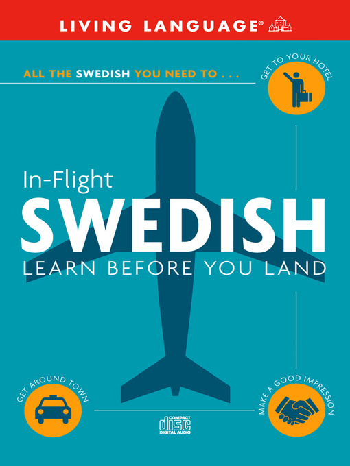 Title details for In-Flight Swedish by Living Language - Available