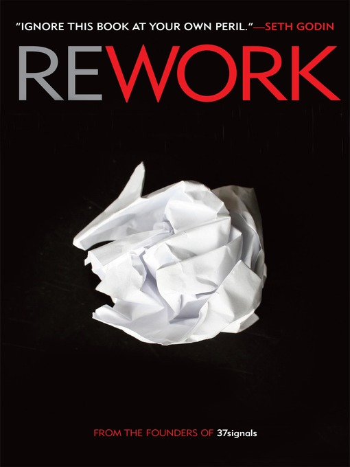 Title details for Rework by Jason Fried - Available