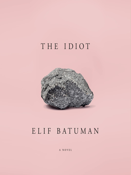 Title details for The Idiot by Elif Batuman - Wait list