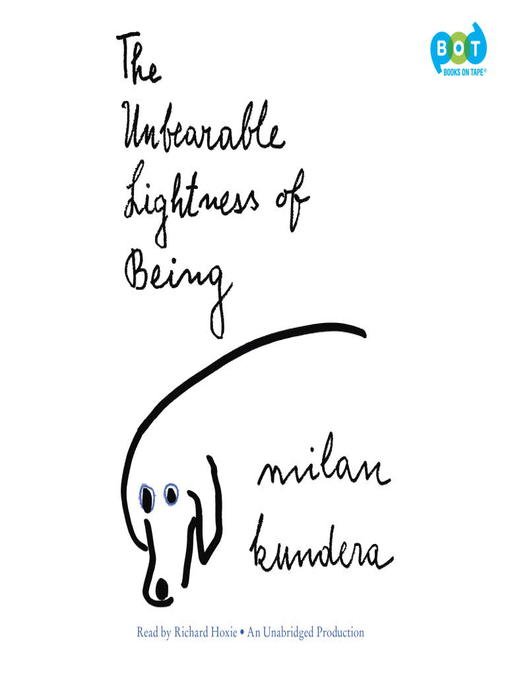 Unbearable Lightness Of Listening To >> The Unbearable Lightness Of Being Indiana Digital Media Overdrive