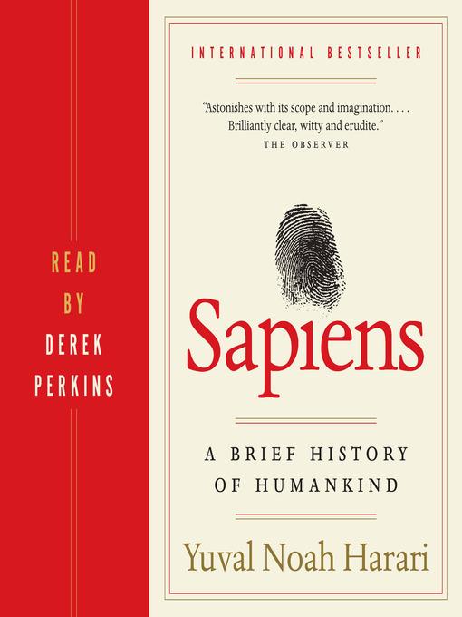 Title details for Sapiens by Yuval Noah Harari - Wait list
