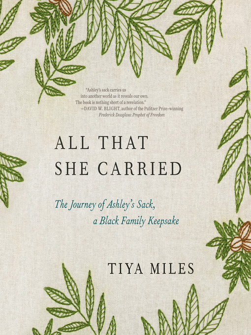 Title details for All That She Carried by Tiya Miles - Wait list