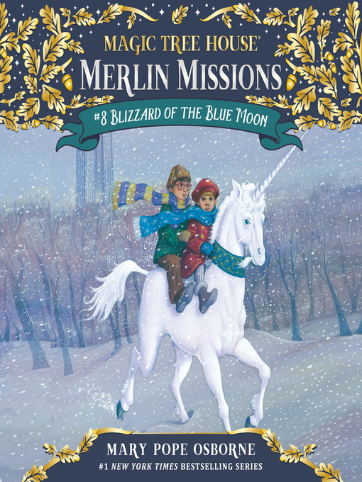 Title details for Blizzard of the Blue Moon by Mary Pope Osborne - Wait list