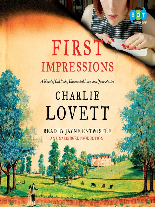 Title details for First Impressions by Charlie Lovett - Available