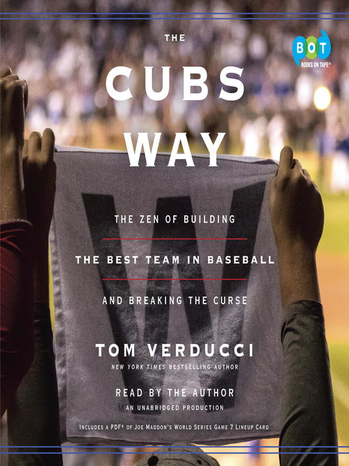 Title details for The Cubs Way by Tom Verducci - Wait list