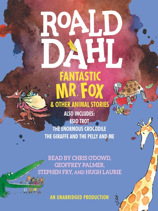 Cover of Fantastic Mr. Fox and Other Animal Stories