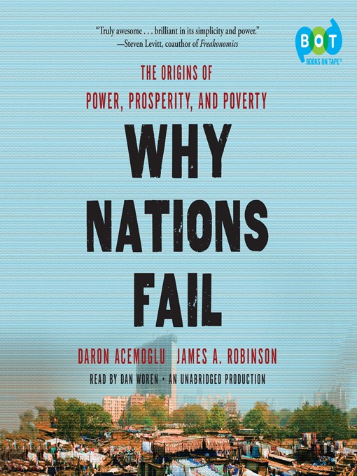why nations fails book review Why nations fail by daron acemoglu and james a robinson book review while the book may tend to err on the side of excess history and repetition.