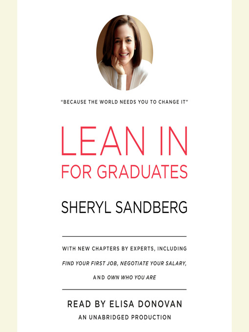 Title details for Lean In for Graduates by Sheryl Sandberg - Wait list