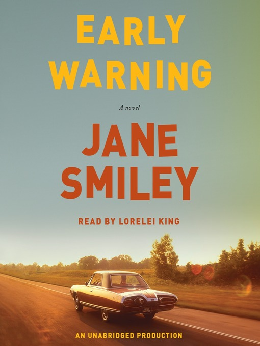Title details for Early Warning by Jane Smiley - Wait list