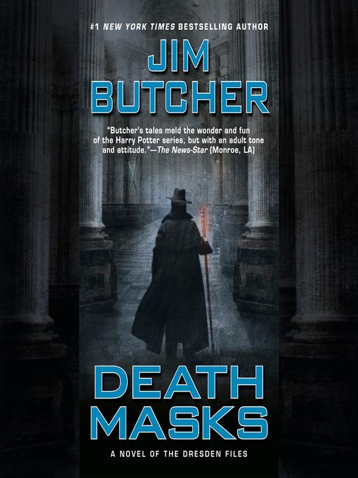 Title details for Death Masks by Jim Butcher - Wait list
