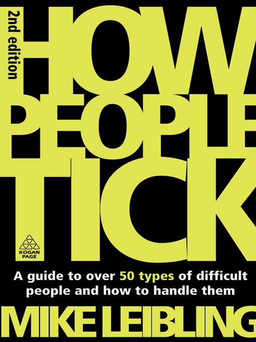 Title details for How People Tick by Mike Leibling - Available