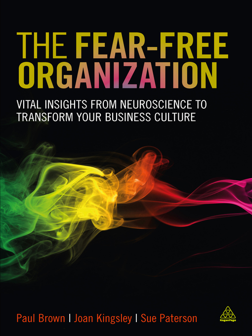 Title details for The Fear-free Organization by Paul Brown - Available