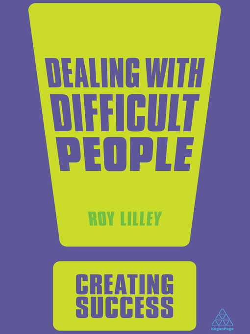 Title details for Dealing with Difficult People by Roy Lilley - Wait list