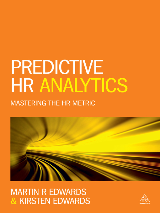 Title details for Predictive HR Analytics by Kirsten Edwards - Available