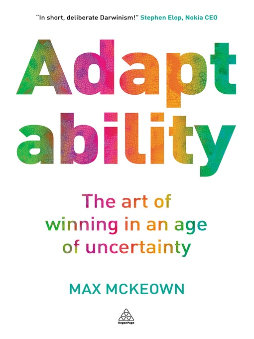Title details for Adaptability by Max McKeown - Available
