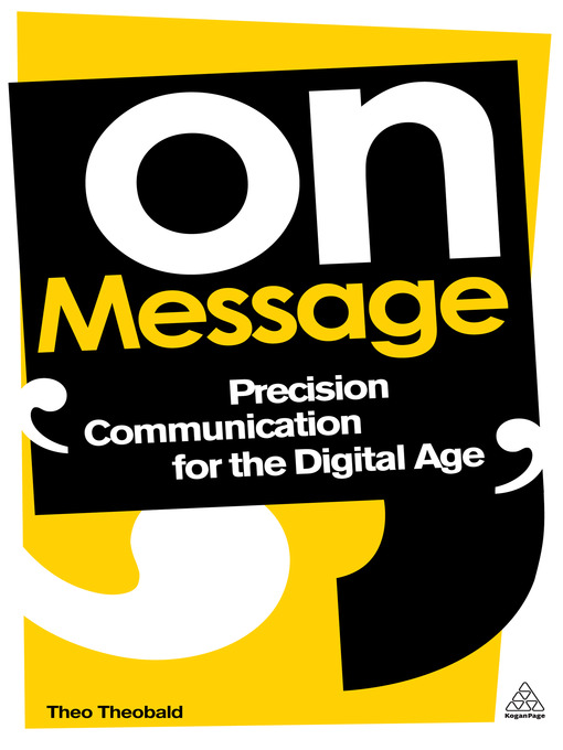 Title details for On Message by Theo Theobald - Available