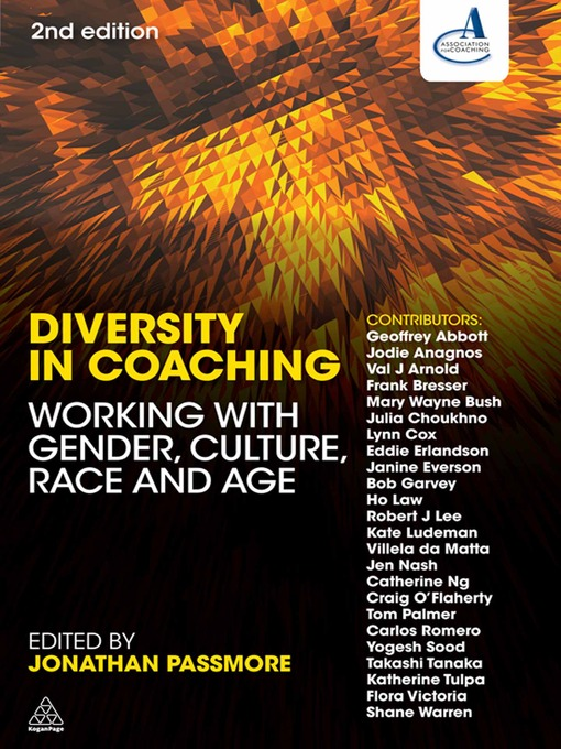 Diversity in Coaching Working with Gender, Culture, Race and Age