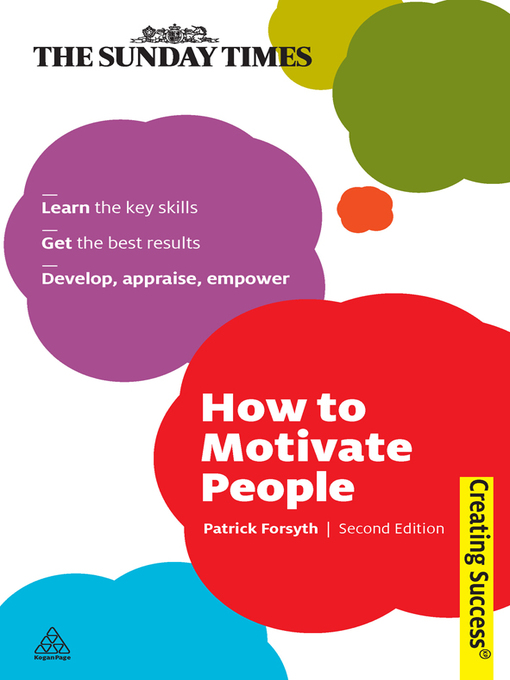 Cover of How to Motivate People