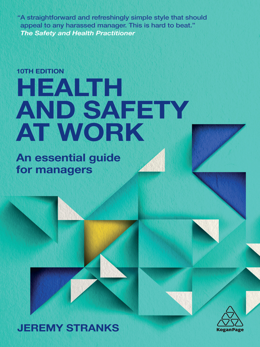 Title details for Health and Safety at Work by Jeremy Stranks - Wait list