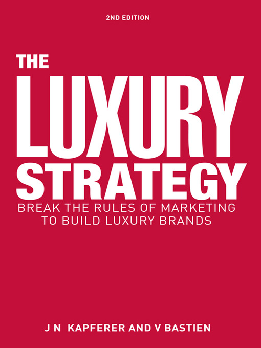 Cover of The Luxury Strategy