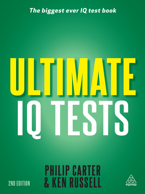 Ultimate IQ Tests 1000 Practice Test Questions to Boost Your Brain Power